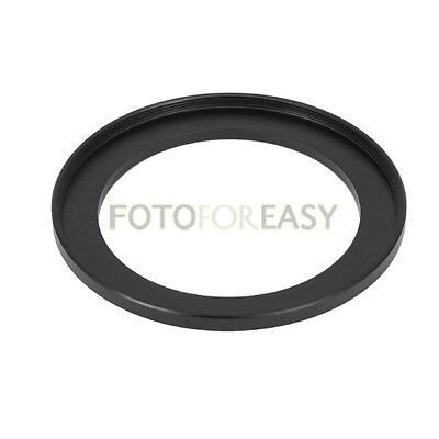 Black 58mm to 77mm 58mm-77mm Step Up Filter Ring