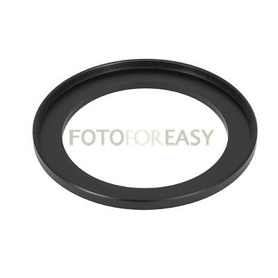 Black 43mm to 58mm 43mm-58mm Step Up Filter Ring