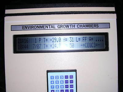 Environmental Growth Chambers Controller Interface