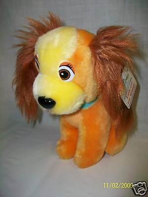Walt Disney LADY and the Tramp Plush Toy w/ Paper Tag