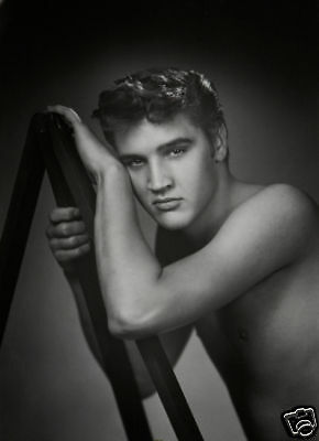 Elvis Presley Shirtless Early 10x8 Photo