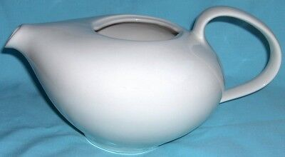 Russel Wright Iroquois Casual restyled teapot~white-NR