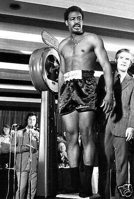 Al Blue Lewis Muhammad Ali Boxing 10x8 Photo