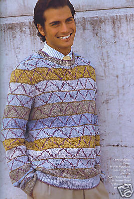 Brandon Mably Badly Drawn Sweater Kit  - Discontinued Rowan Summer Tweed