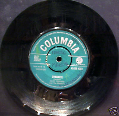 Cliff Richard and The Shadows - Dynamite 45""