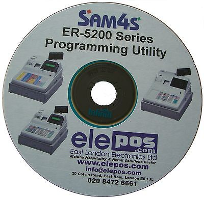 Sam4s ER-5200 M Programming Utility + PC to Till Cable