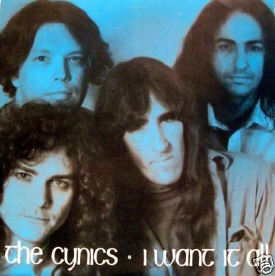 """The Cynics - i want it all/brother the man 45"""""""