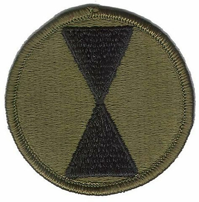 PATCH BDU NEW 85TH INFANTRY DIVISION SUBDUED