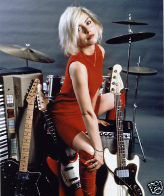 Blondie Debbie Harry Awesome New 10x8 Photo Drums