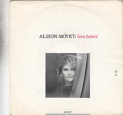 """Alison Moyet - love letters / this house 45"""""""