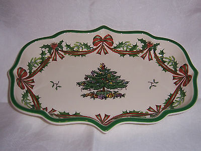Spode Christmas Tree.Spode Christmas Tree 65th Anniversary Candy Dish New In Box