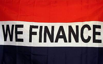 We Finance Red White & Blue 3x5 Flag New Business!