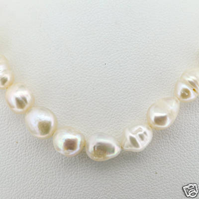 Imitation Pearls Strand with Gold Plated Closure
