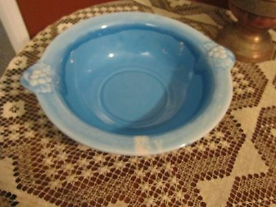Maurice of Calif  Large Turquoise Bowl- Numbered P-135