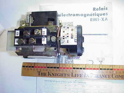 Telemecanique Rm1Xa0631 63 Amp Latching Adj.trip Relay