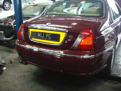 Direct Fit Rover 75 2.5 l Performance Exhaust System