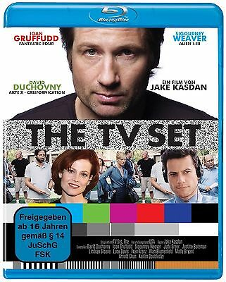 10x  The TV Set ( BLU-RAY ) mit David Duchovny, Sigourney Weaver NEU OVP