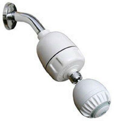 Dechlorinating Shower Filter with Massage head
