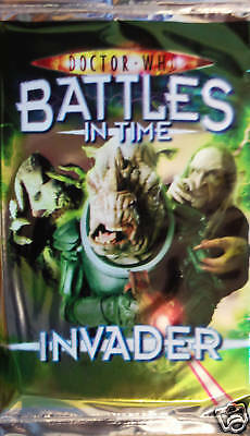 Doctor Who Battles In  Time( Invader ) Booster
