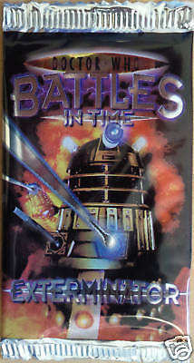 Doctor Who Battles In  Time( Exterminator ) Booster
