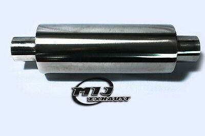 """2/"""" WELD-ON 16/"""" 51mm 4/"""" Dia Universal Exhaust Silencer"""