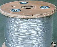 "1/16"" 7x7 Stainless Steel Cable Wire Rope (1000' Spool)"