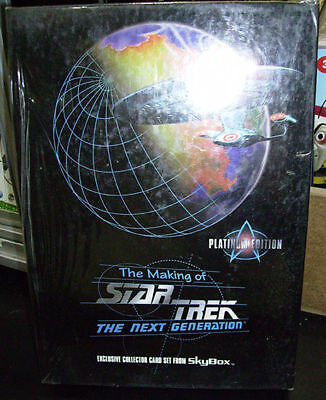 Star Trek Making Next Gen Platinum Edition sealed box