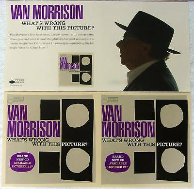 VAN MORRISON What's Wrong With This 2Sided PROMO Poster