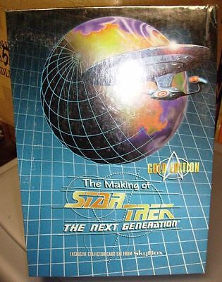 Star Trek Making Of Next Gen Gold Edition sealed box