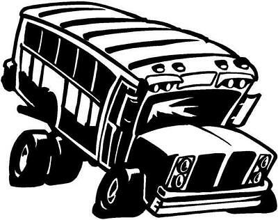 Classic School Bus Vinyl Decal Car Boat Window Sticker