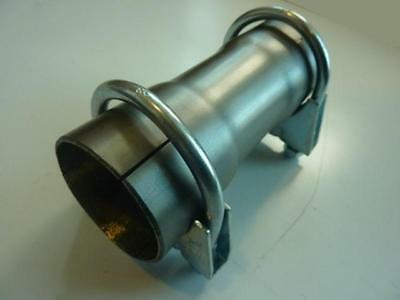 """2"""" 50mm Exhaust Pipe Connector Sleeve Joiner Adapter Stainless Steel"""