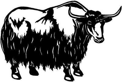 Yak  Vinyl Decal Car Truck Window Sticker