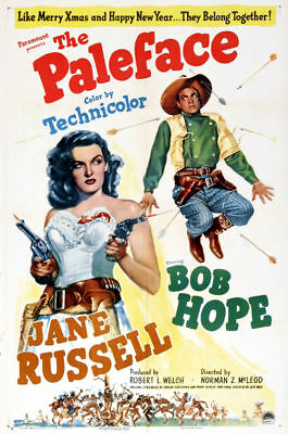 The paleface Bob Hope vintage movie poster print