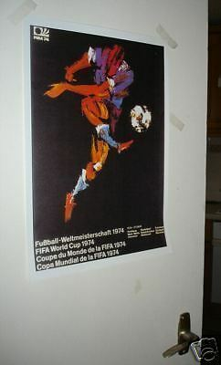 1974 Germany World Cup Official Poster REPRO