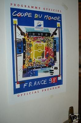 1998 France World Cup Official Poster Repro