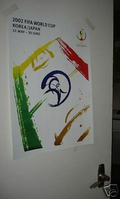 2002 World Cup Door OFFICIAL Poster Repro