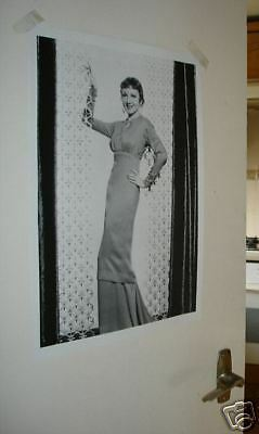 Actress Claudette Colbert NEW Poster Fly