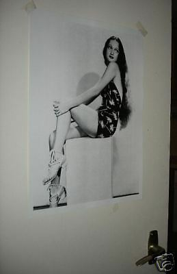 Actress Dorothy Lamour NEW Poster