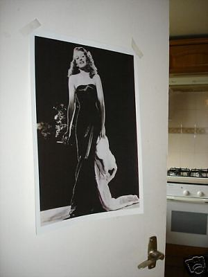 Actress Rita Hayworth NEW Poster