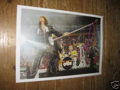 Aerosmith Steven Tyler live on stage POSTER