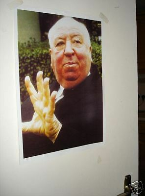 Alfred Hitchcock Door Poster Colour NEW