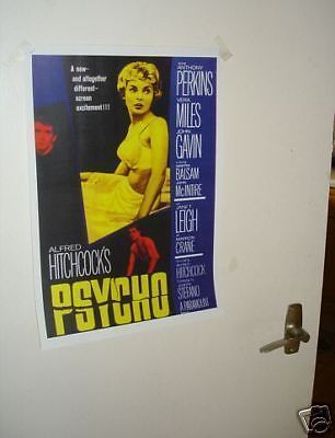 Alfred Hitchcock PSYCHO Repo Film Poster