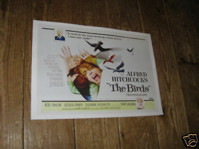 Alfred Hitchcock The Birds Repro Film POSTER