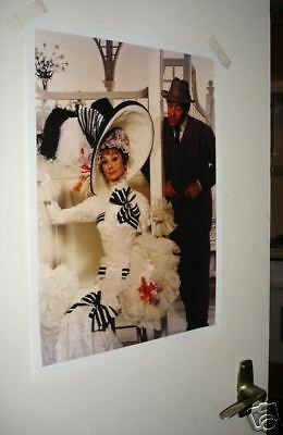 Audrey Hepburn My Fair Lady Film Scene Poster NEW