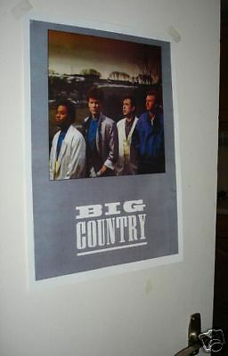 Big Country Tour Repro Poster