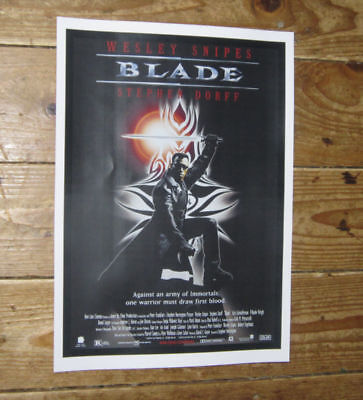 Blade Wesley Snipes Repro Film POSTER