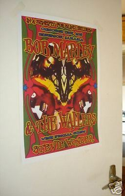 Bob Marley and the Wailers Repro Tour Poster
