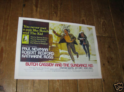 Butch Cassidy and the Sundance Kid Repro Film POSTER
