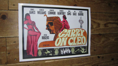 Carry on Cleo Repro Film POSTER
