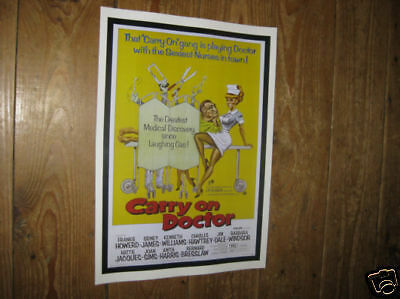 Carry on Doctor Repro US Film POSTER